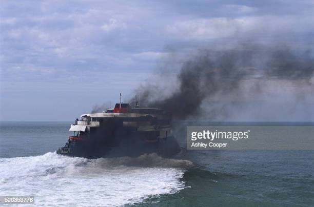 Fumes Coming out of Ferry