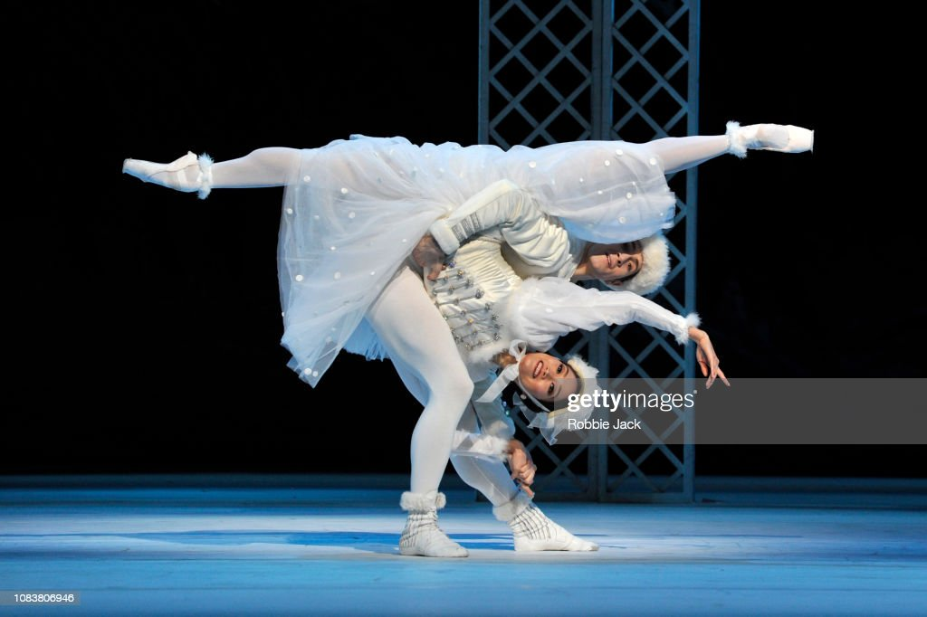 Frederick Ashton's 'Les Patineurs' At The Royal Opera House London : News Photo