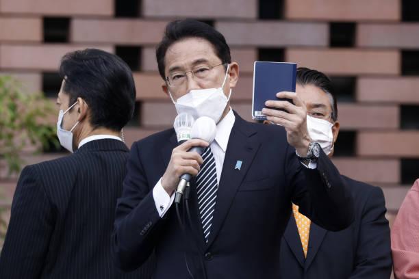 JPN: Japan's Prime Minister Fumio Kishida Campaigning Ahead of Election