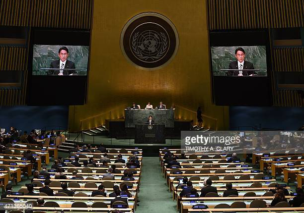 Fumio Kishida Minister for Foreign Affairs of Japan during the 2015 Review Conference of the Parties to the Treaty on the NonProliferation of Nuclear...