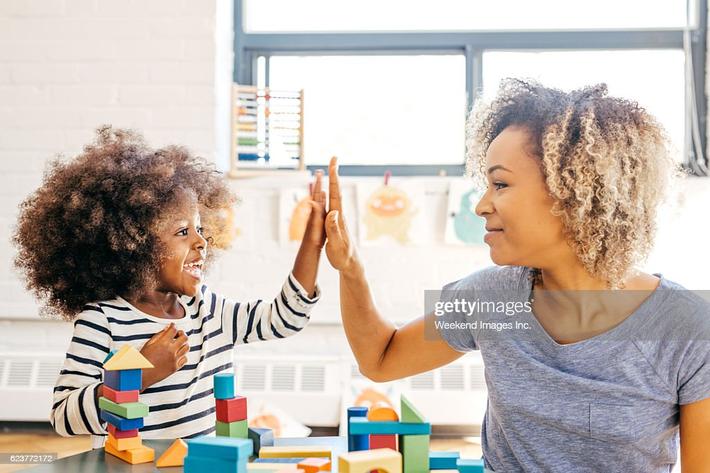 Fun activities for 3 years old : Stock Photo