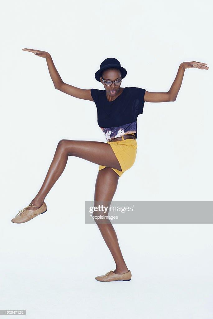 Fun and fashionable : Stock Photo
