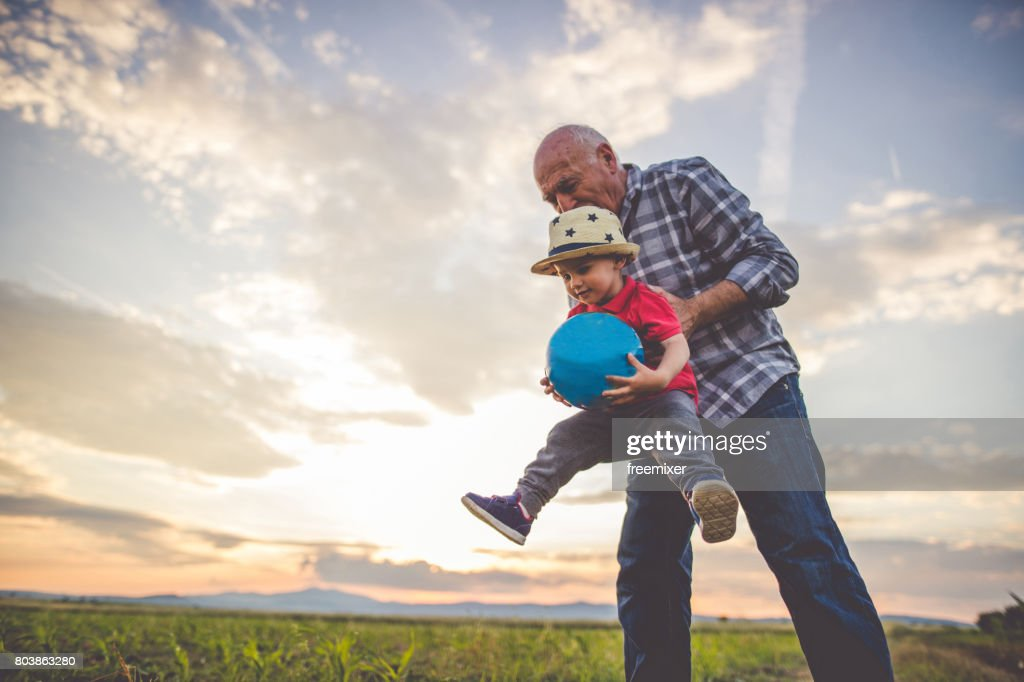 Fun and happy family times : Stock Photo