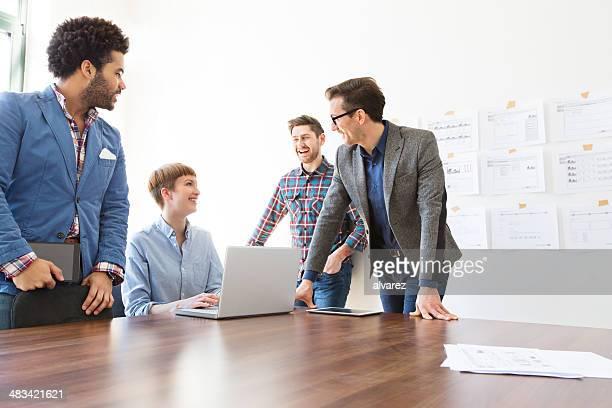 Fun at a meeting