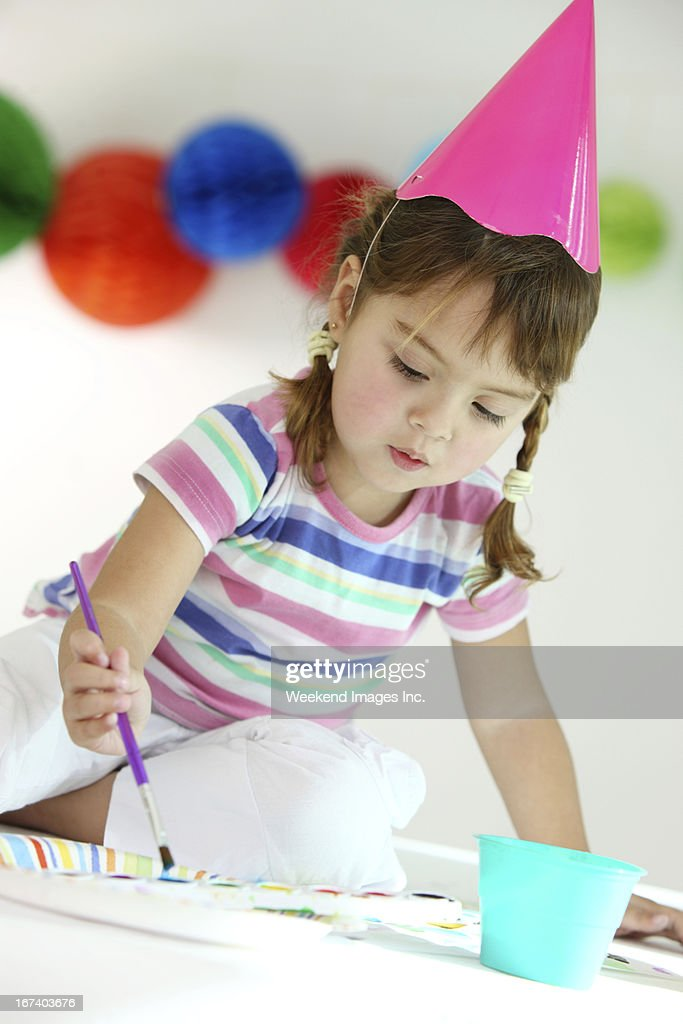 Fun birthday party : Stock Photo
