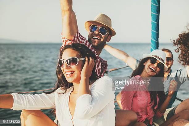 Fun boat trip