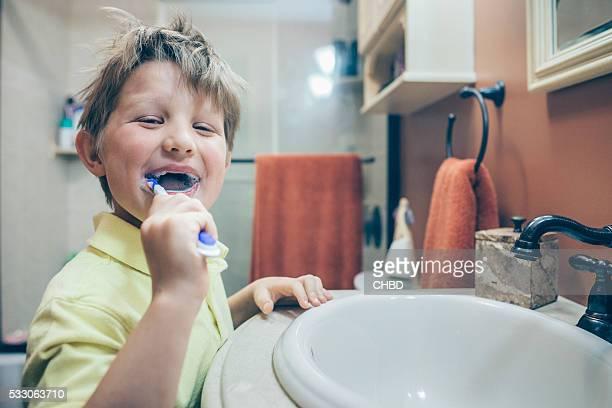 Spaß Zähne putzen