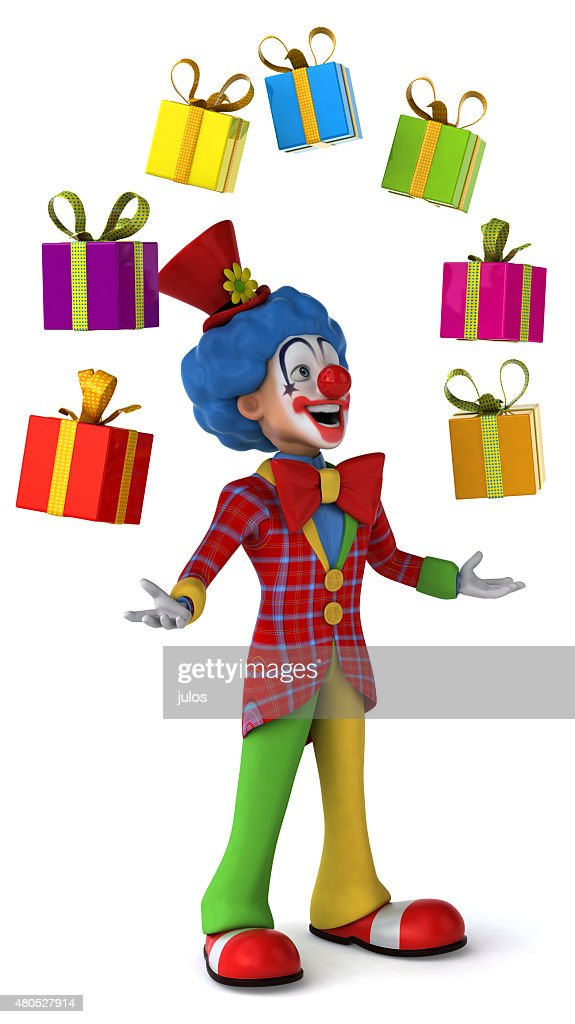 Fun clown : Stock Photo