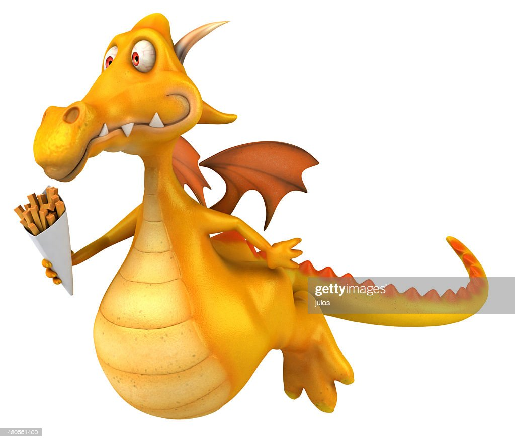 Fun dragon : Stock Photo