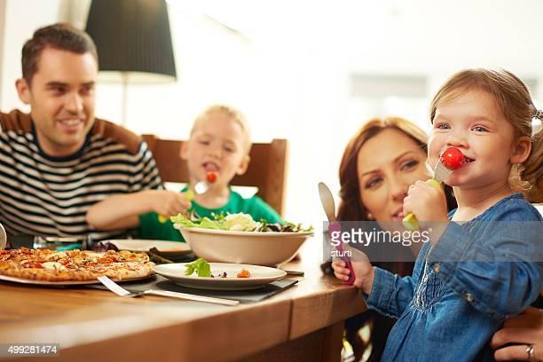 fun family mealtime
