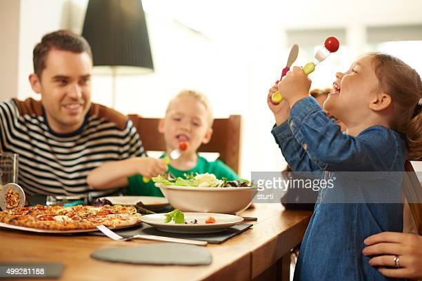fun family teatime.