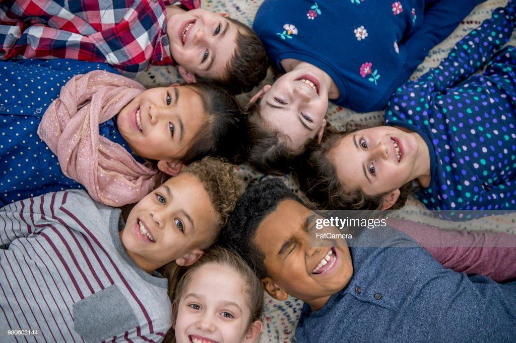 Fun Group Photo : Stock Photo
