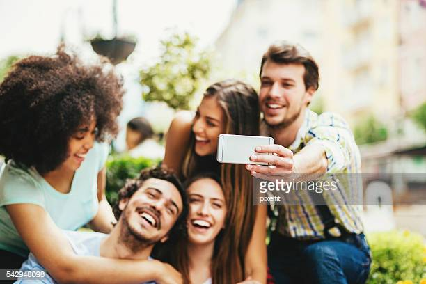 fun group selfie - creole ethnicity stock pictures, royalty-free photos & images