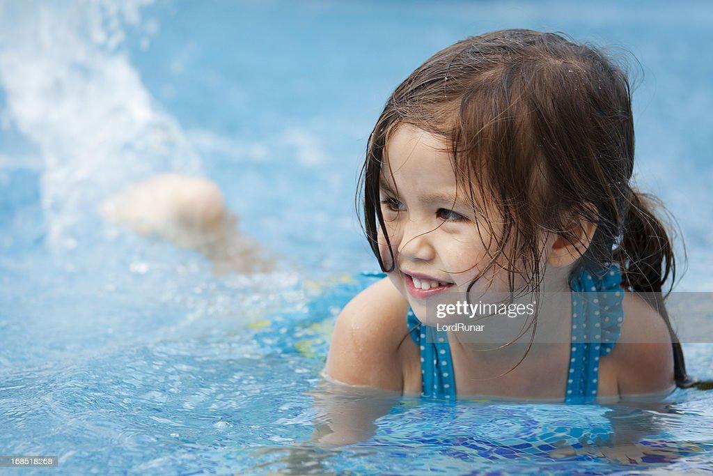 Fun in the pool : Stock Photo