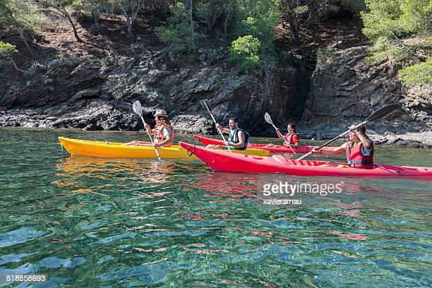 Diversión en kayak