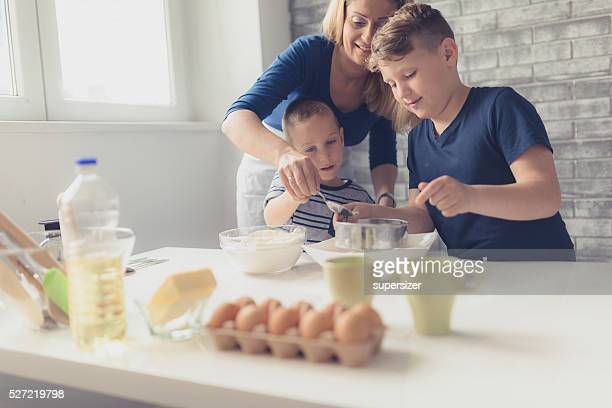 Fun making cookies