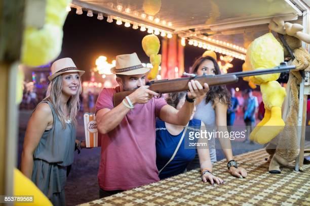 Fun on target shooting game