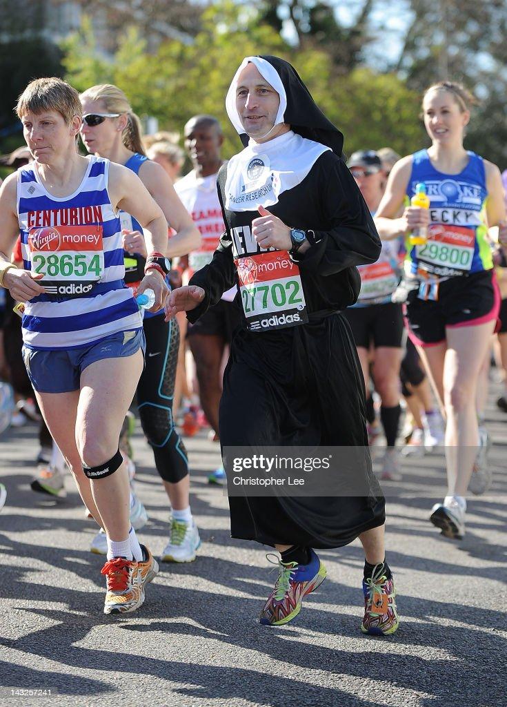 Virgin London Marathon 2012 : ニュース写真
