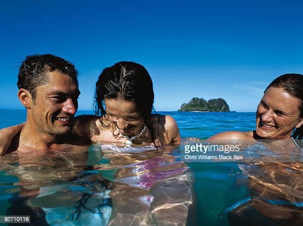Fun, sea and sun in Fiji.