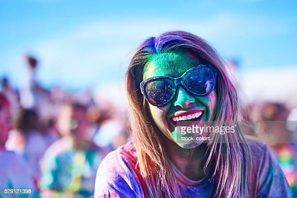 Spaß im Holi Festival