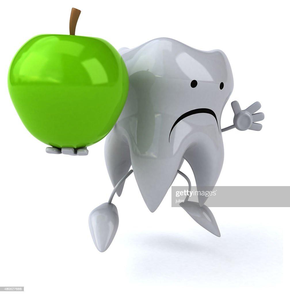 Spaß Zahn : Stock-Foto