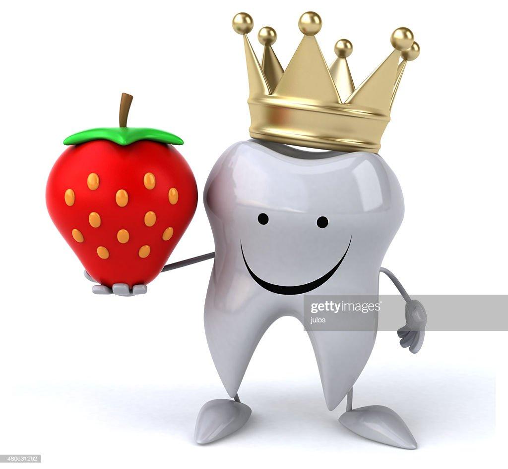 Fun tooth : Stock Photo