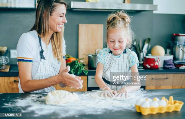 fun with flour. - baked stock pictures, royalty-free photos & images