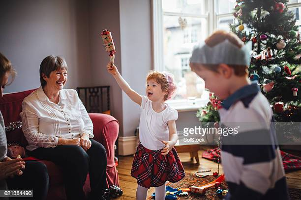 Fun with Grandma at Christmas