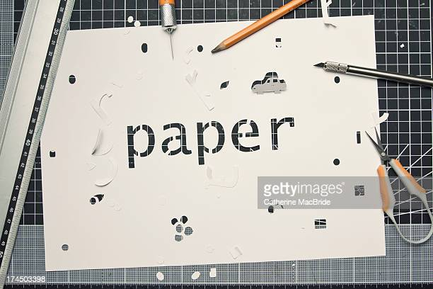 fun with paper... - catherine macbride stock pictures, royalty-free photos & images