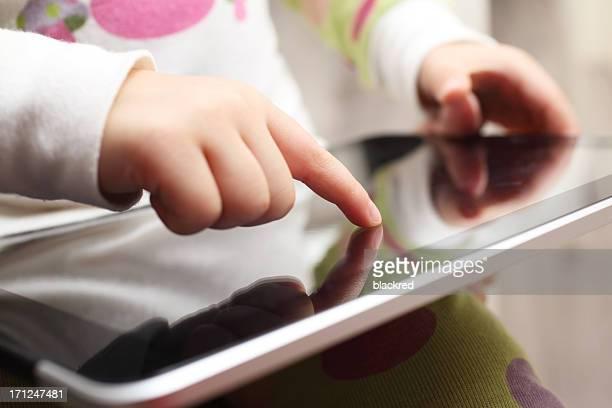 Spaß mit Tablet