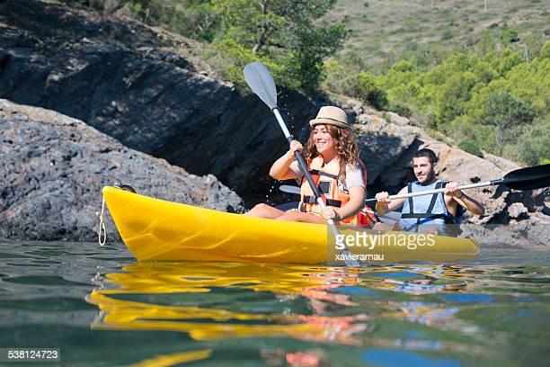 Fun with the kayak