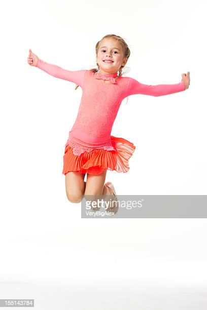 Fun Young Tap Dancer in Red