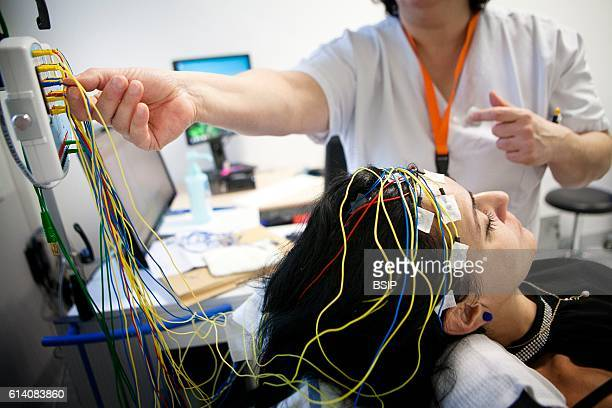 Functional neurological exploration unit Epilepsy screening and followup consultation The patients take a video EEG during which they are subjected...