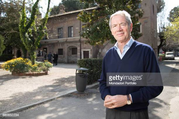 Functionary Guido Bertolaso mayoral candidate of Rome for a few months with FI Rome Italy 27th March 2016