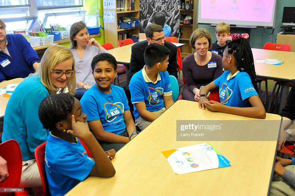 UNICEF Kid Power Washington DC Celebrates Impact of Local Kids Getting Active and Saving Lives : News Photo