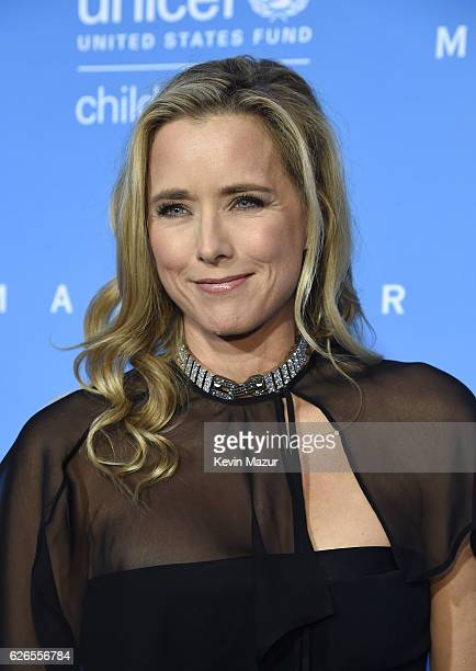 S Fund for UNICEF National Board Member Tea Leoni attends the 12th annual UNICEF Snowflake Ball at Cipriani Wall Street on November 29 2016 in New...