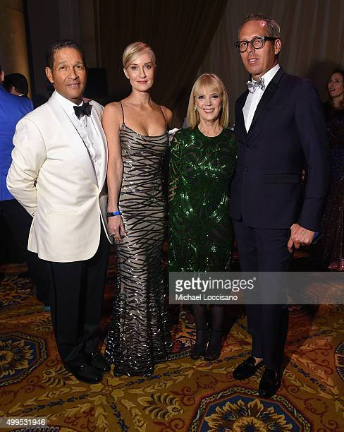 S Fund for UNICEF National Board Members Bryant Gumbel Hilary Gumbel President of L'Oreal Luxe Carol Hamilton and Tim Quinn attend 11th Annual UNICEF...