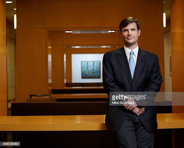Fund manager Dennis Lynch is photographed for Barron's Magazine on October 28 2014 in New York City