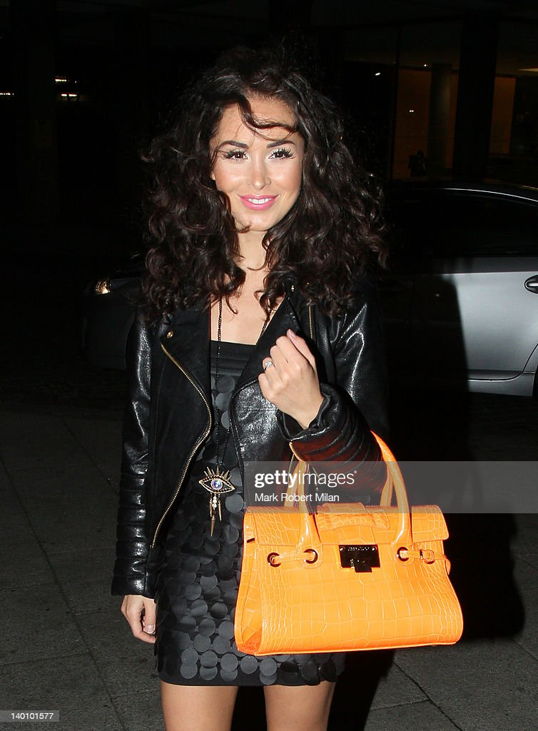 Funda Onal seen attending the Hair Awards 2012 at the Sky Bar, Millbank Tower on February 27, 2012 in London, England.