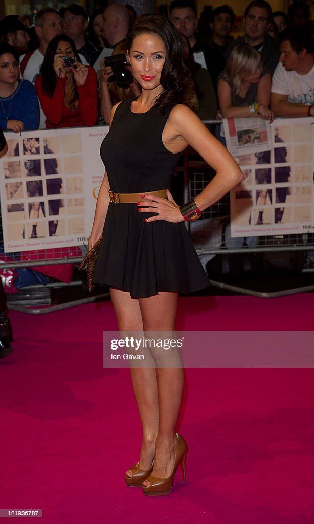 Funda Onel attends the European premiere of 'One Day' at Vue Westfield on August 23, 2011 in London, England.
