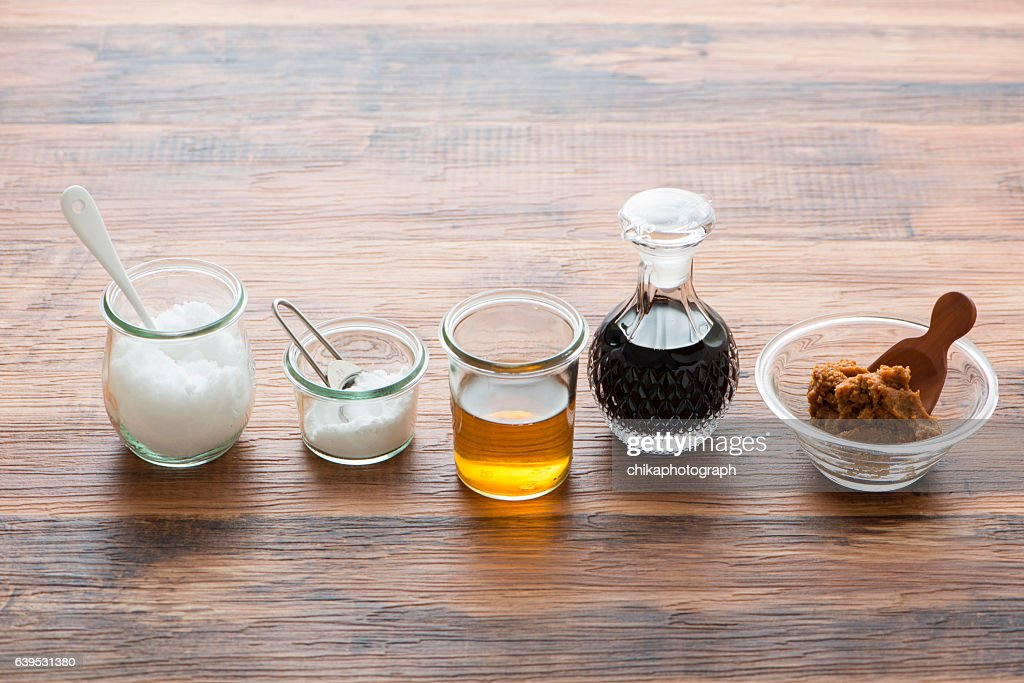 Fundamental seasoning in Japan : Stock Photo