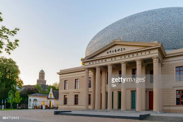fundatie museum in the city of zwolle, the netherlands - zwolle stock photos and pictures