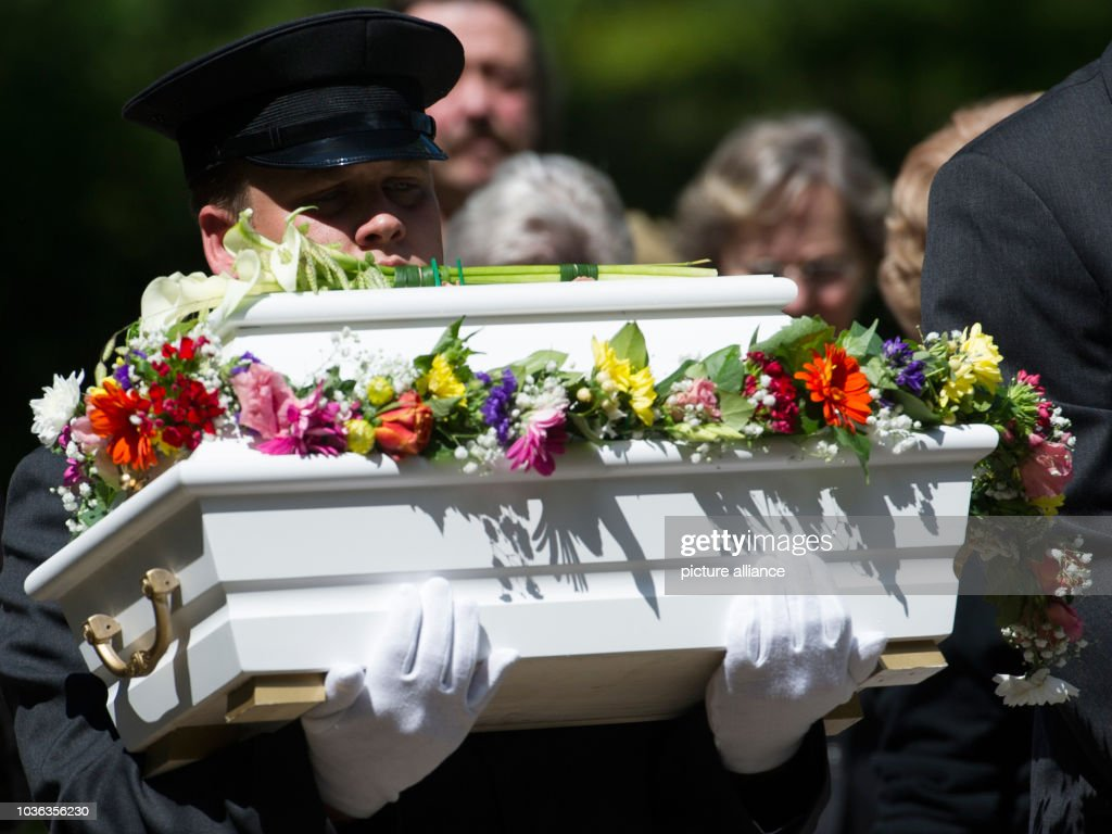 Funeral For Dead Infant Which Was Found In Baby Hatch Pictures