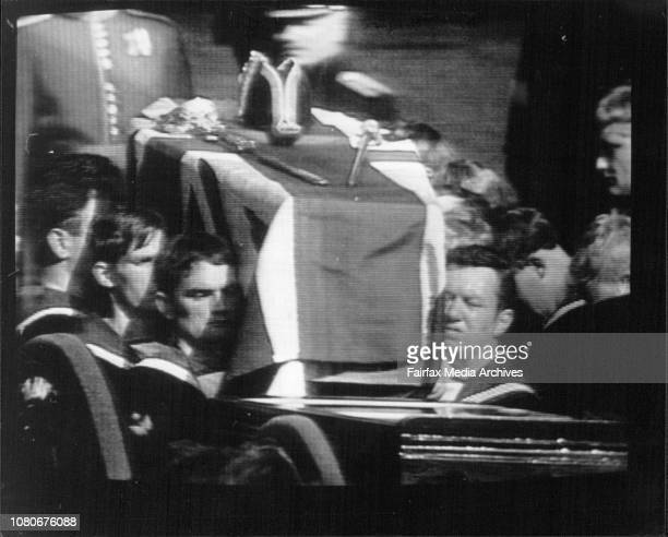 Funeral for Lord Louis Mountbatten in London today September 5 1979