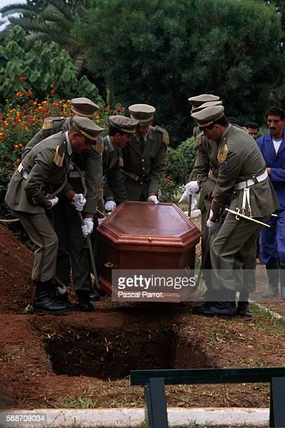 Funeral of Algerian President Mohamed Boudiaf
