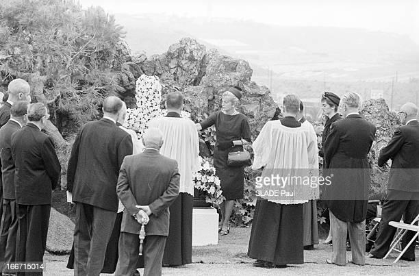 Funeral Of American Actor Gary Cooper En mai 1961 aux Etats unis à Los Angeles lors des funérailles de l'acteur américain Gary COOPER au cimetière de...