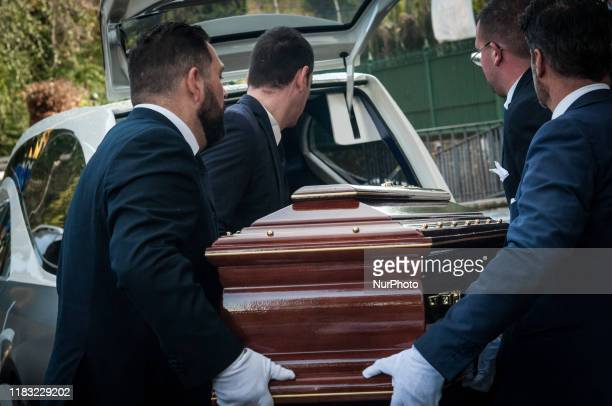 Funeral of Antonello Falqui, director, author of television programs and considered among the creators of the television variety with programs like...