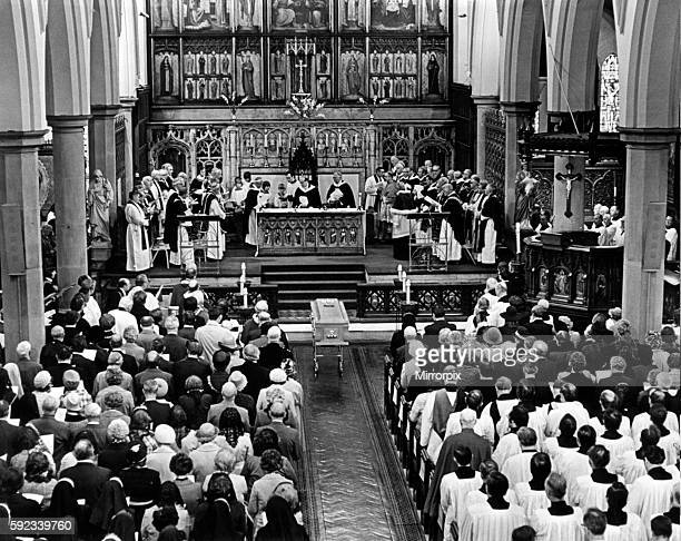 Funeral of Bishop of Middlesbrough the Rt Rev John Gerard McClean Cathedral Church of St Mary the Virgin Middlesbrough 31st August 1978