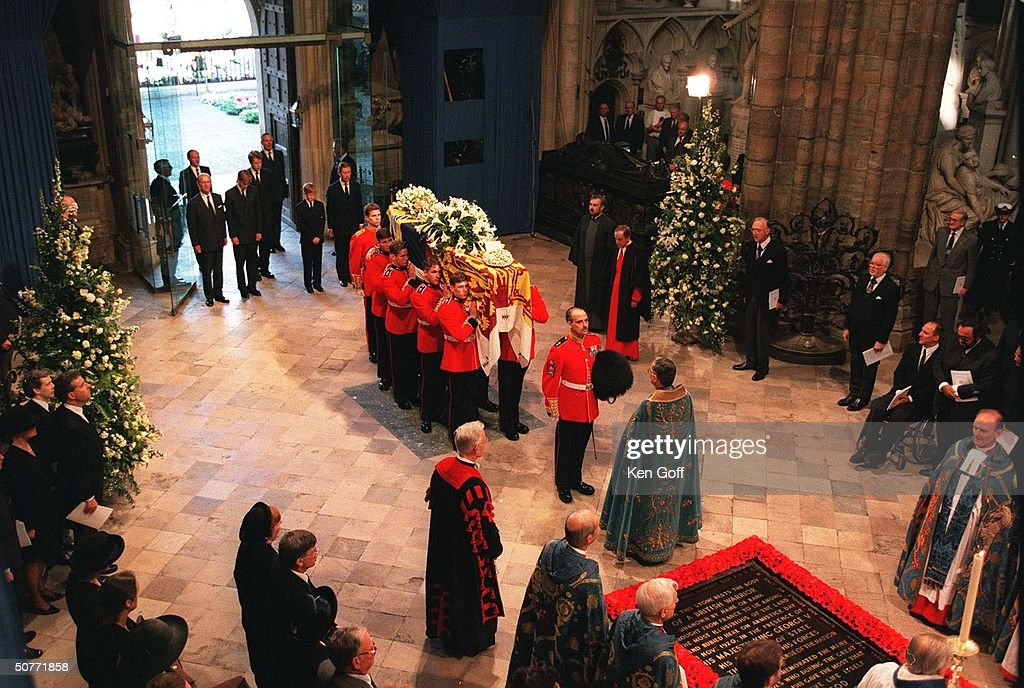 Funeral of Diana, Princess of Wales, at Westminster Abbey.