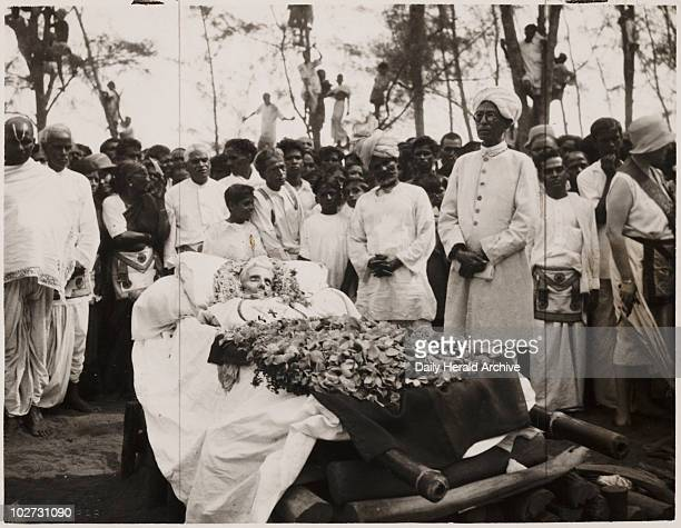 Funeral of Dr Annie Besant Madras India 1933 A brief ceremony was held in a Masonic temple at the headquarters of the Theosophical Society at Adyar...